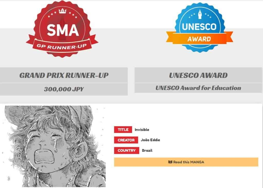 SMA - Vencedor da Categoria GP e Unesco