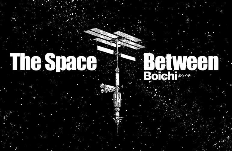 Uma estação espacial no espaço, um dos mangás do boichi