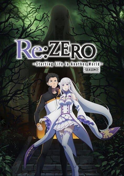 capa de re:zero segunda temporada
