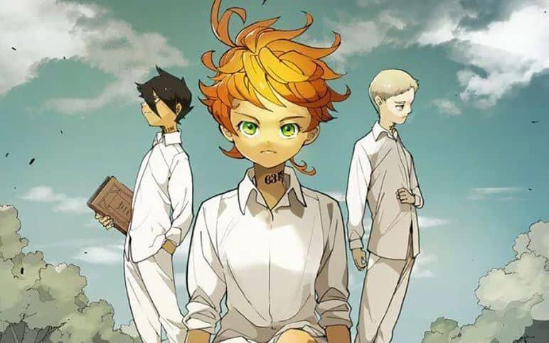 the promised neverland novo anime da netflix