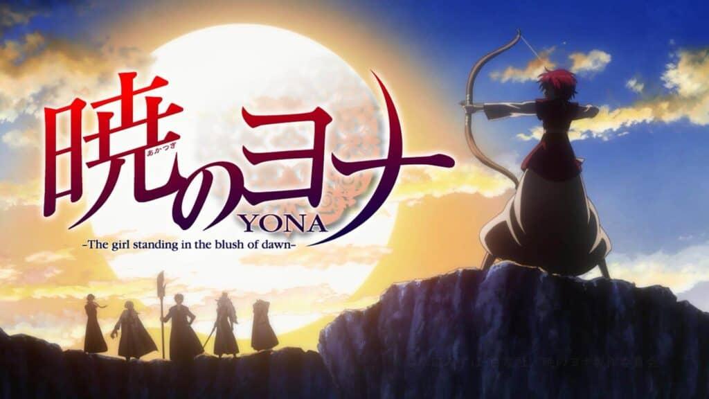 capa do anime Akatsuki no yona