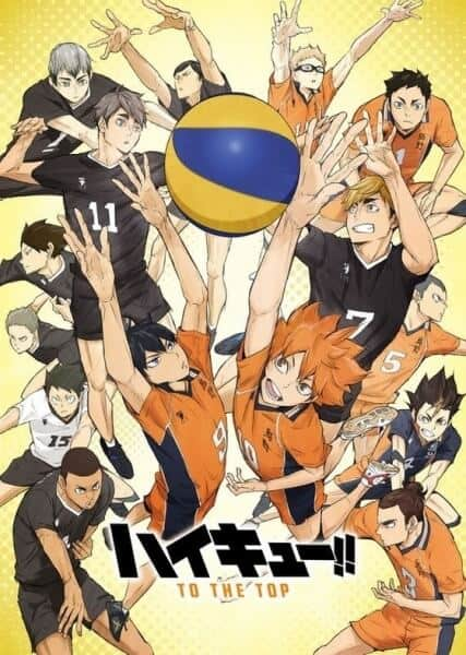 Haikyuu To the Top segunda parte visual