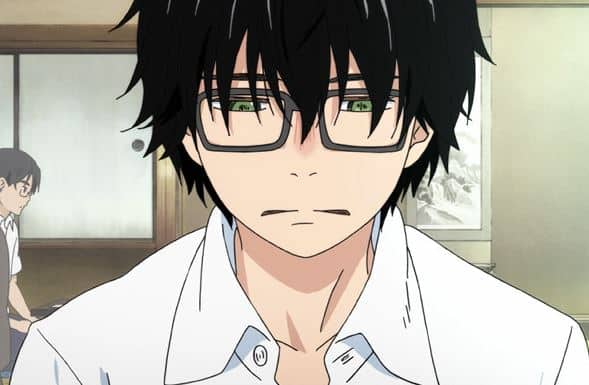 protagonista do anime 3-gatsu no lion
