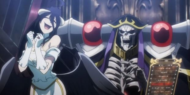 anime overlord personagens