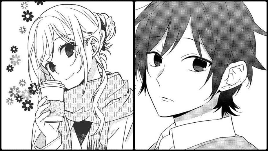 horimiya mangá de romance com protagonistas lado a lado