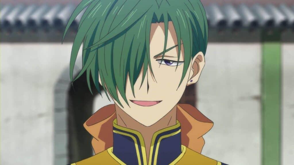 dragão verde Akatsuki no Yona