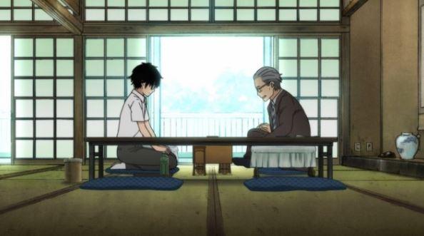a representação do shogi em 3-gatsu no lion