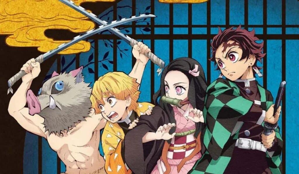personagens principais de kimetsu no yaiba