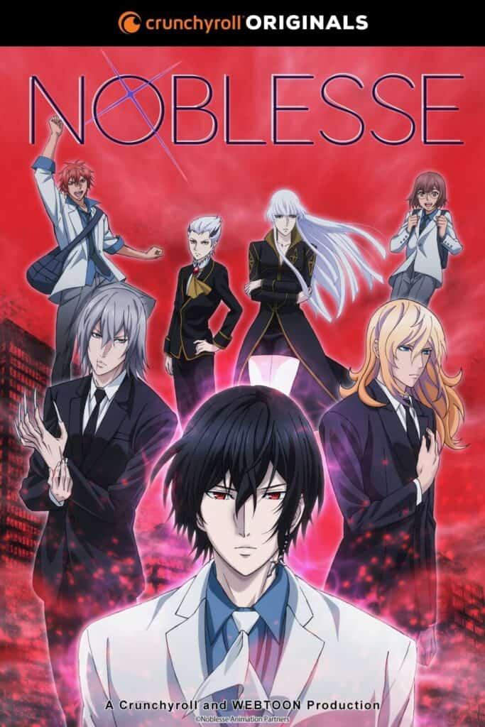 personagens masculinos de noblesse