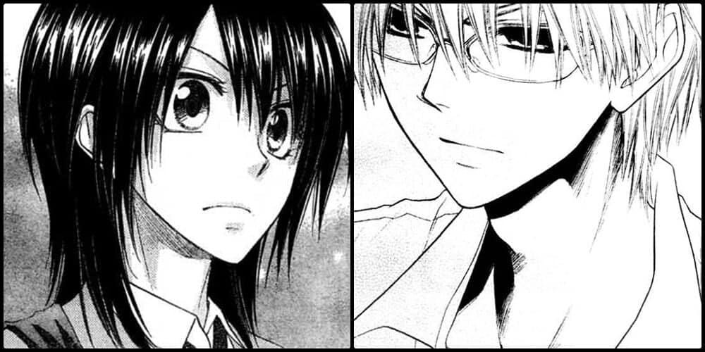 usui e misaki de kaichou wa maid sama mangá de romance