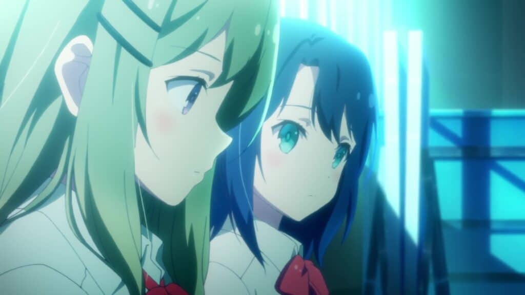 visual do anime adachi to shimamura