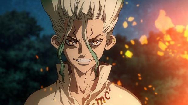 personagem senku de dr stone