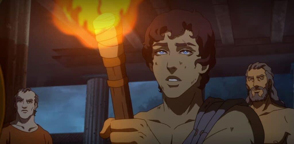 o protagonista de O Sangue de Zeus
