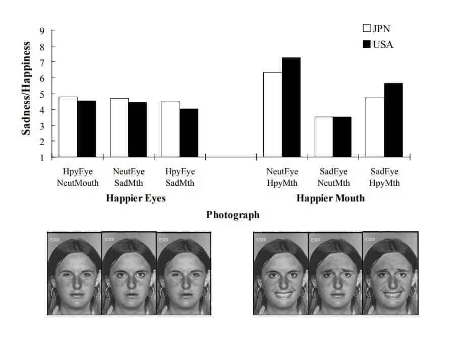gráficos do artigo sobre olhos janela da alma