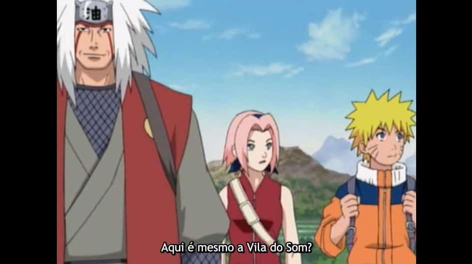 jiraiya naruto e sakura em filler episodio 136