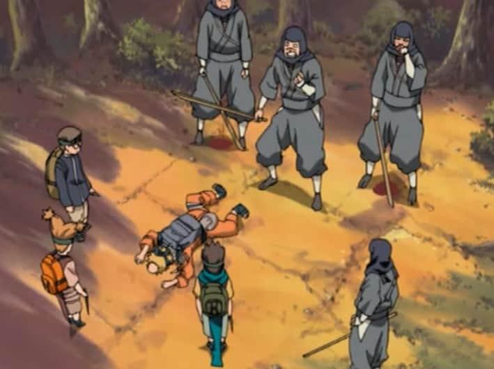 naruto junto com ninjas