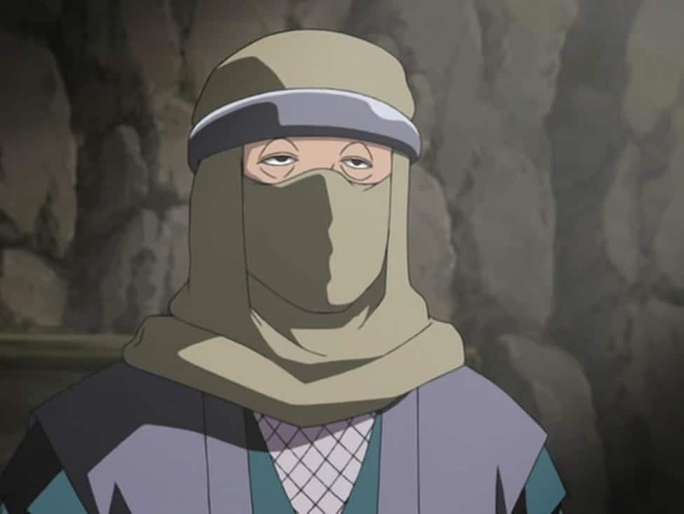 ninja encapuzado em filler de naruto