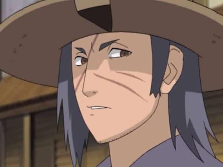 personagem do filler de naruto que usa chapeu