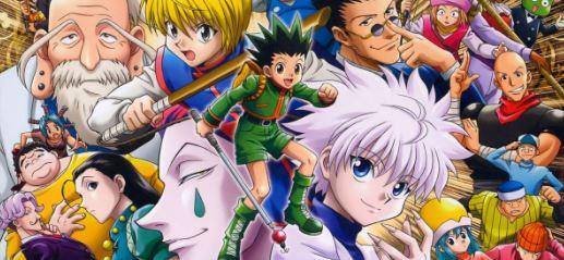 personagens do mangá hunter x hunter