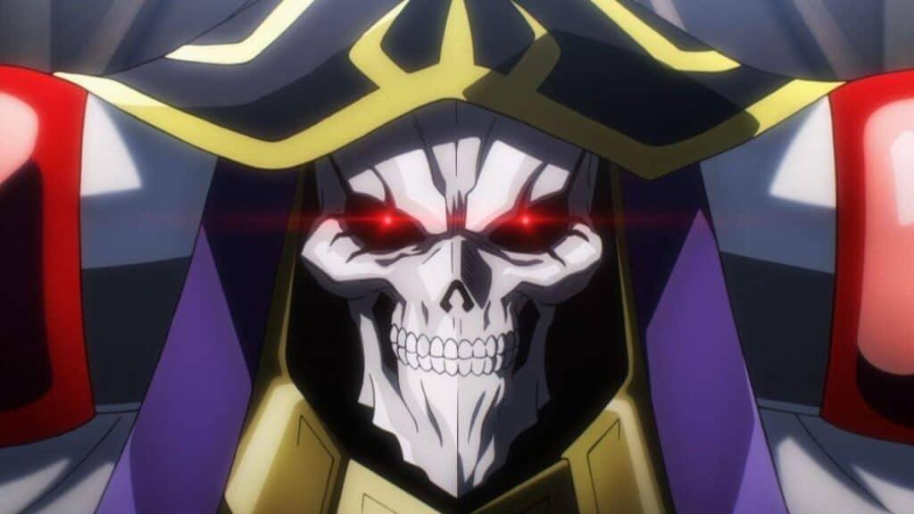 Momonga protagonista de Overlord