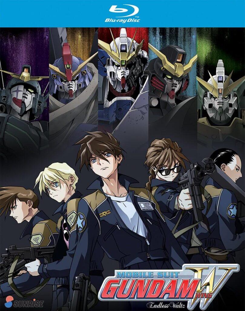Gundam Wing capa