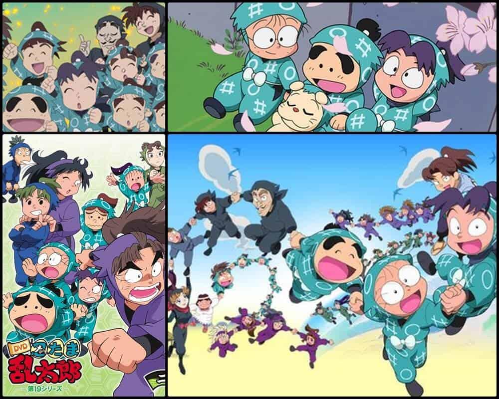Nintama Rantaro um anime com muitos episódios