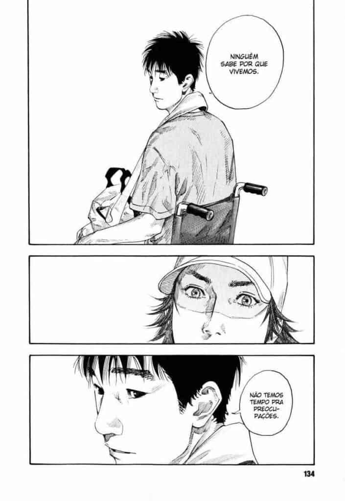 Yamauchi falando verdades para o Togawa