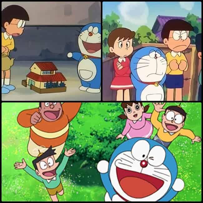 cenas do anime longo doraemon