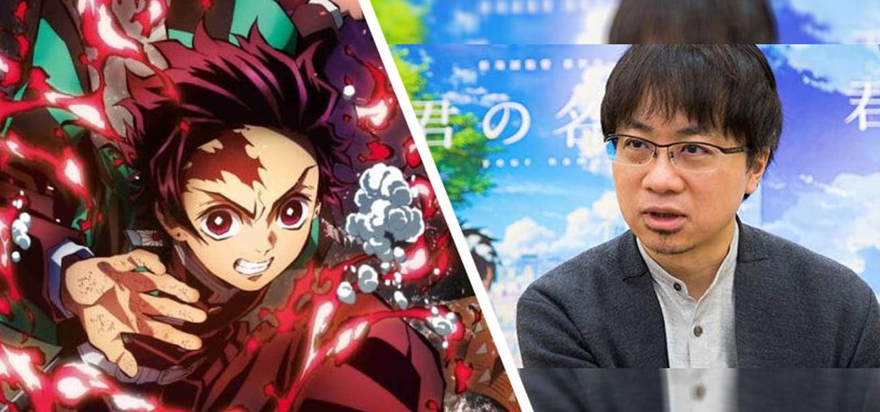 makoto shinkai fala sobre novo filme e sucesso de kimetsu