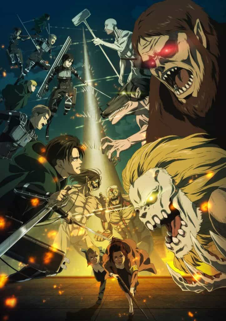 novo visual de Shingeki no Kyojin The Final Season