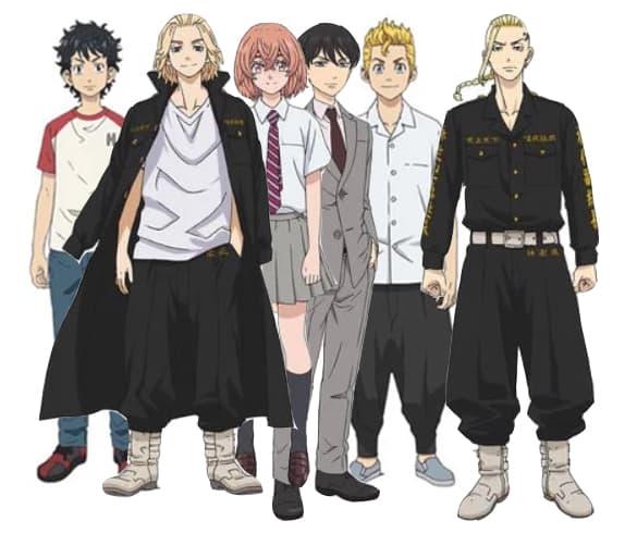 personagens de tokyo revengers