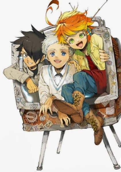 personagens do mangá the promised neverland