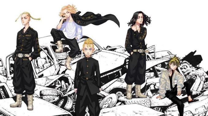 protagonistas da série tokyo revengers