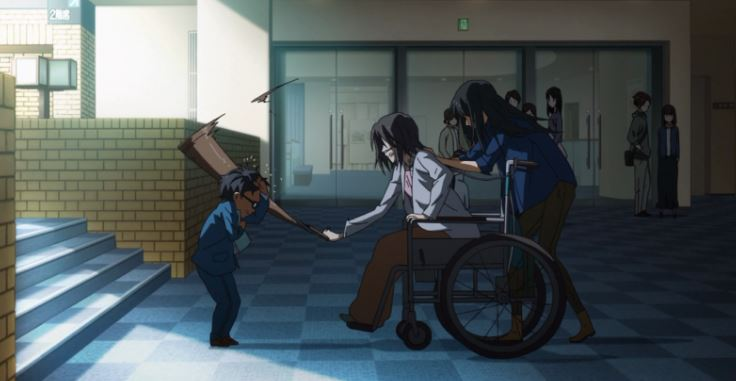 relacionamento de kousei e sua mae
