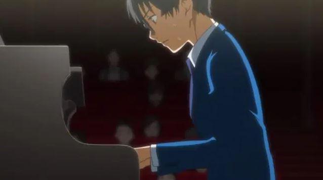 shigatsu wa kimi no uso e a relação com o piano