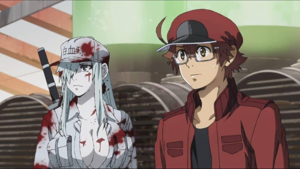 Personagens Principais de Hataraku Code Black