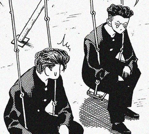 Sakuragi e Ryota a melhor dupla de Slam Dunk