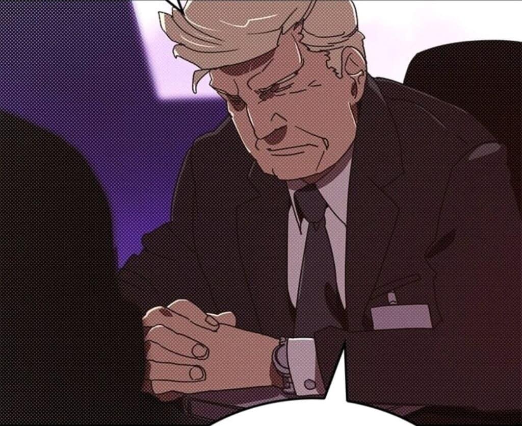 Donald Trump desenhado