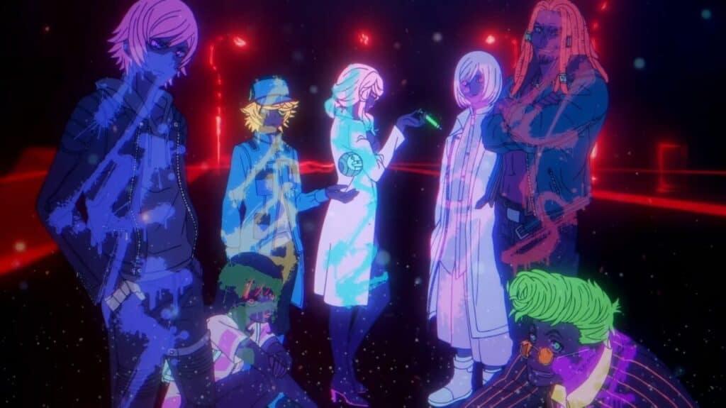 apresentação dos akudama coloridos