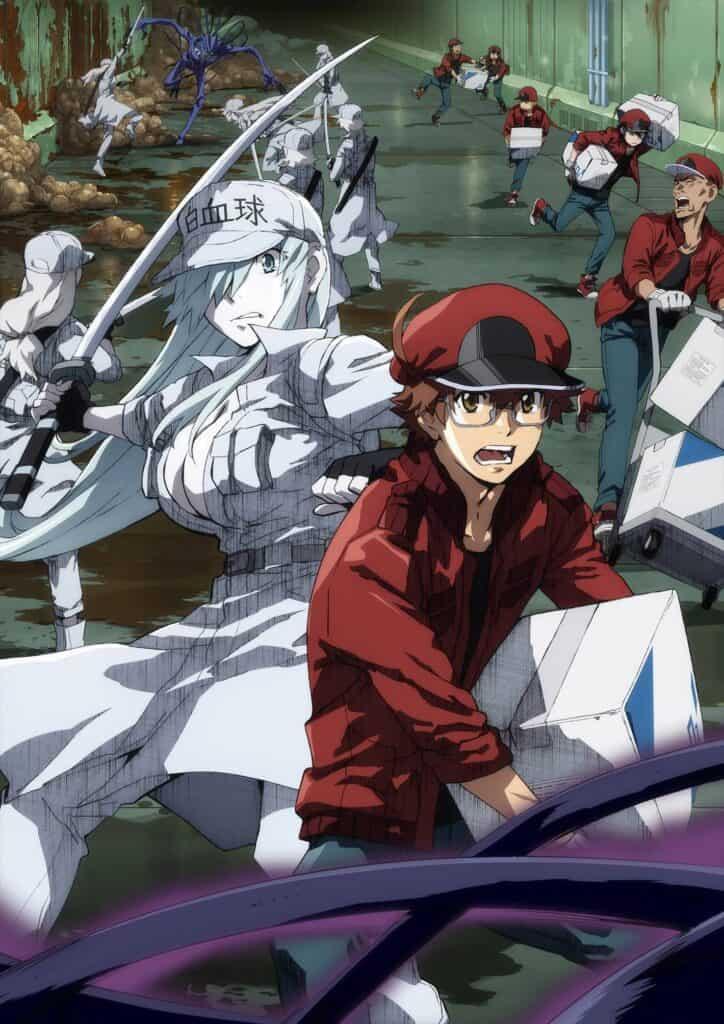Capa do anime Hataraku Code Black