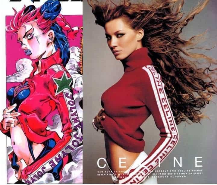 imagem comparação gisele bundchen moda em jojo