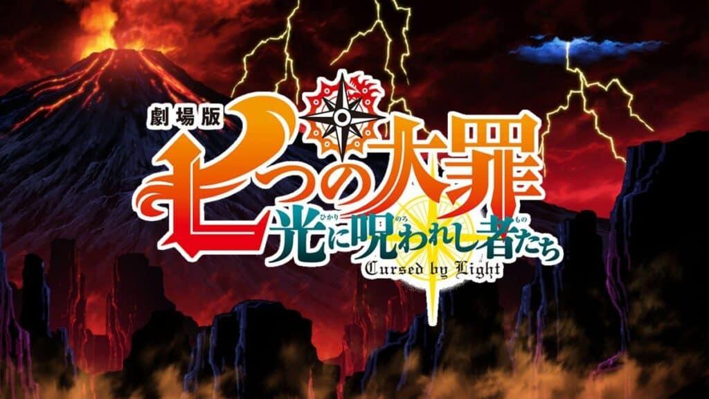 novo filme de nanatsu no taizai Cursed by Light