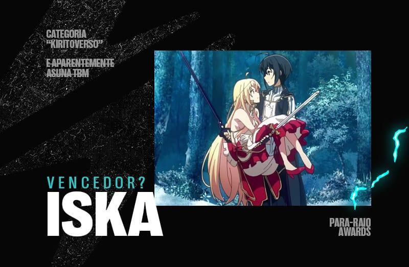 iska e menina de anime no para raio awards