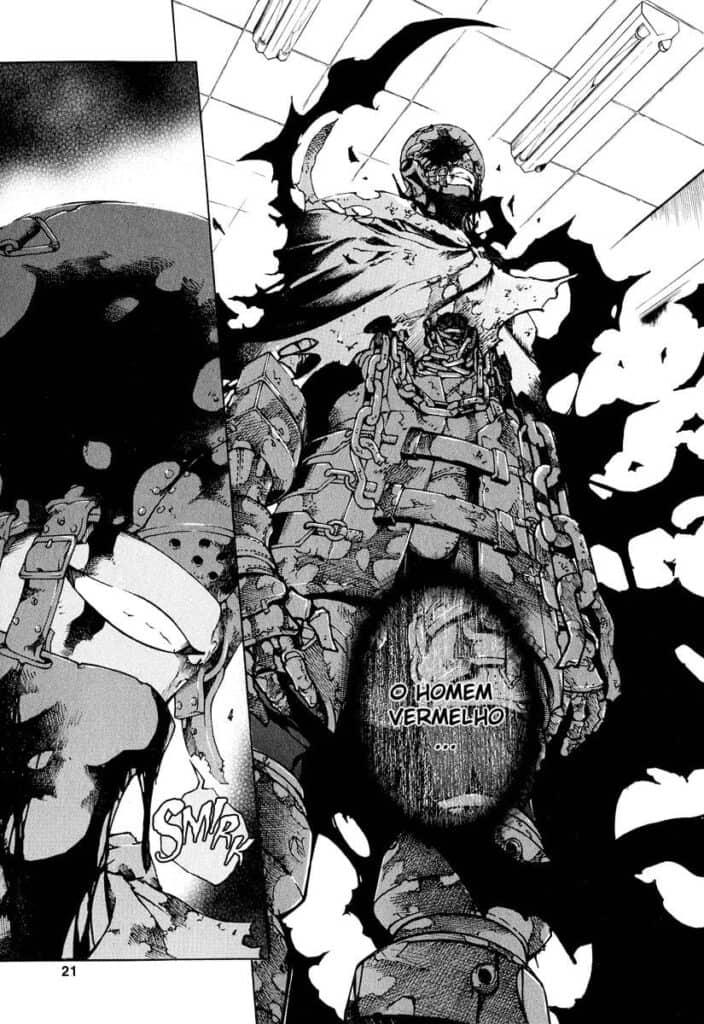 Deadman Wonderland - O homem vermelho