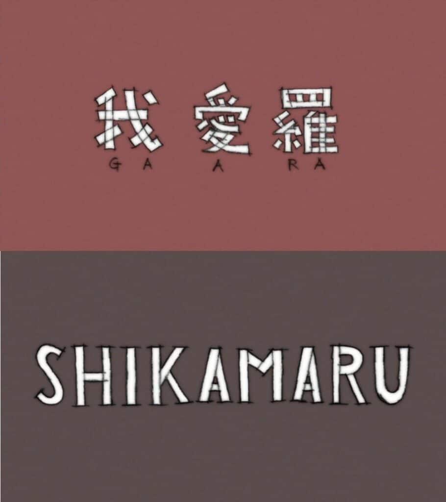 Episódio 482 Gaara e Shikamaru