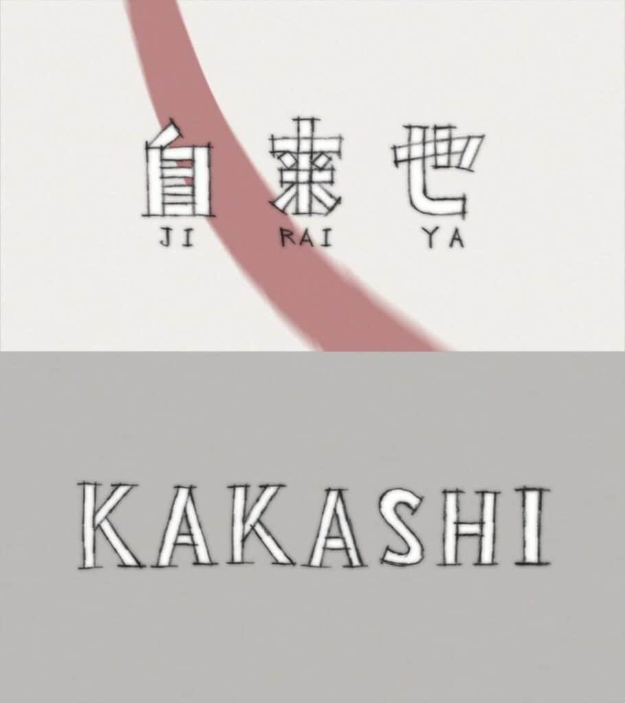 Episódio 483 Jiraiya e Kakashi