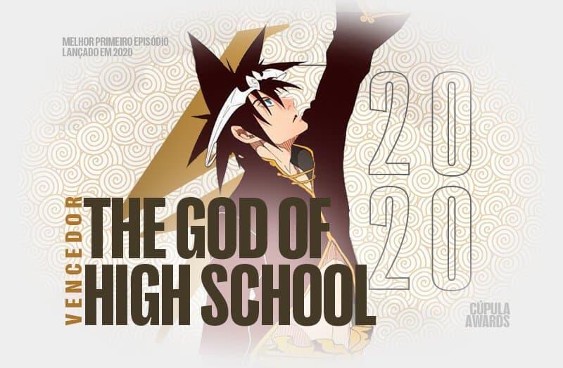 protagonista de the god of high school no centro da montagem