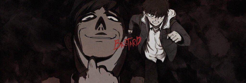 Capa do webtoon de bastard