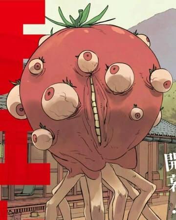 demonio tomate em chainsaw man