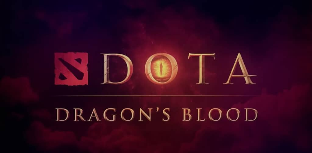 dota 2 dragons blood titulo